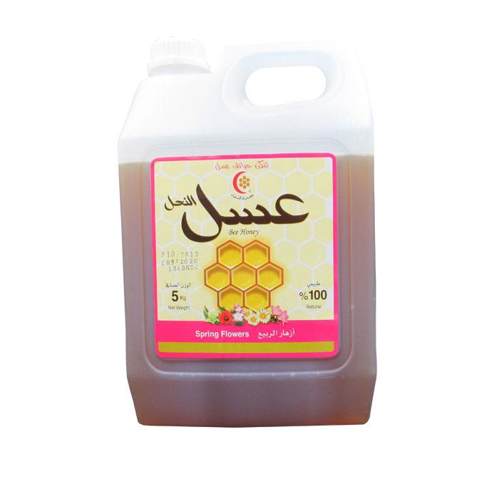 azharelrabea5 - عسل ازهار الربيع 5 كيلو
