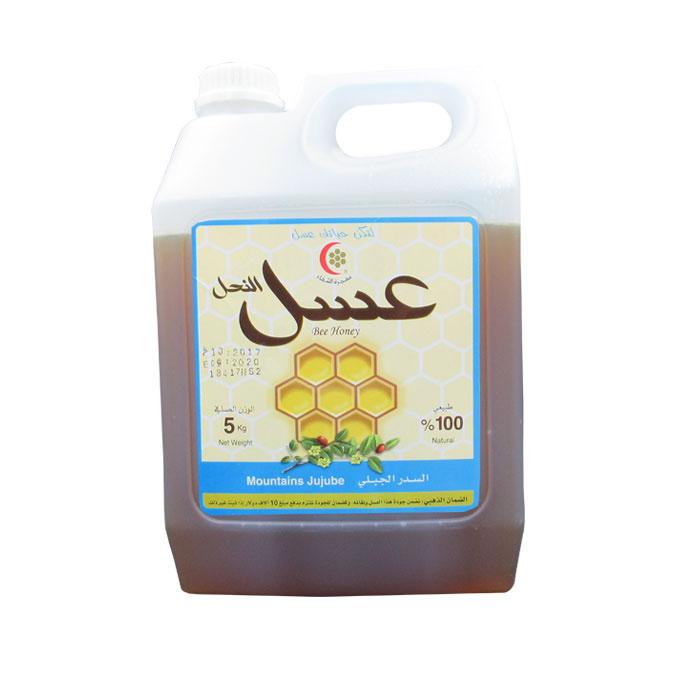 sedrgable5k - عسل السدر الجبلي 3 كيلو